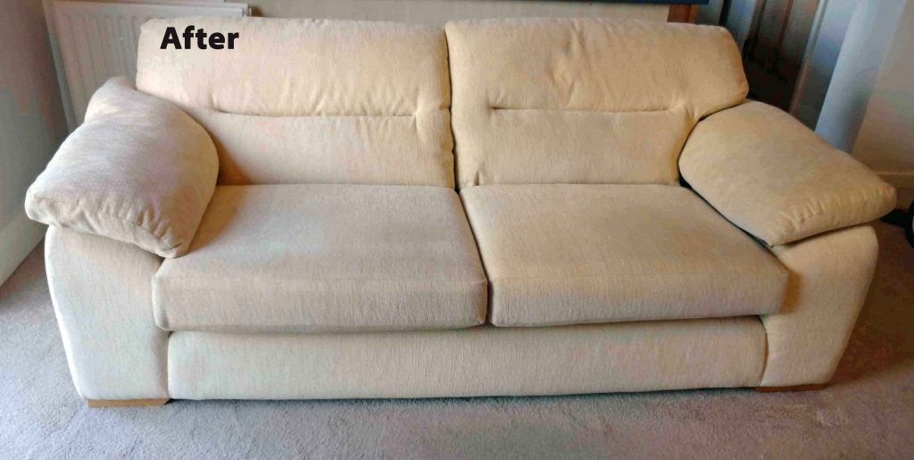 Cleaning Sofa White Fabric 183 Bright Green Cleaning